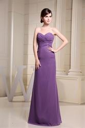 Purple Mermaid Prom Dresses 2018,Purple Long Mother Bride Dresses