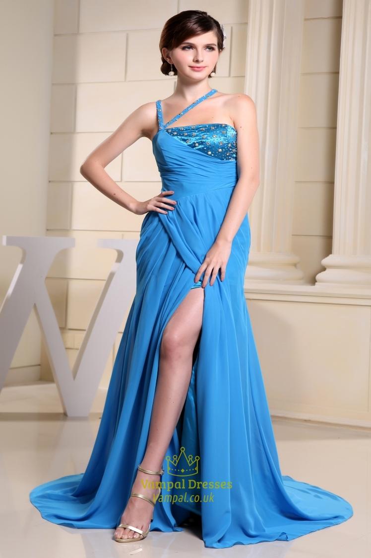 Prom Dresses With Slits Uk 93