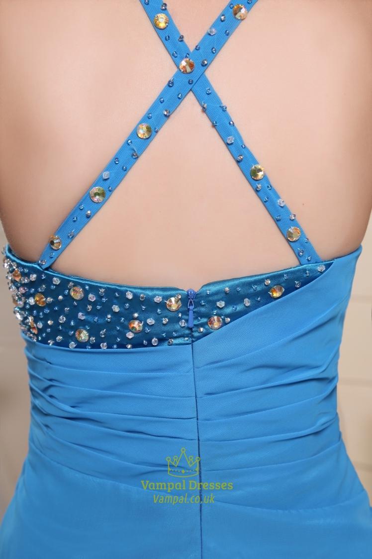 Prom Dresses With Slits Uk 7