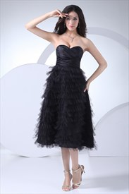Short Black Cocktail Dresses With Feathers,Short Black Cocktail Dress