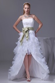 High Low Wedding Dresses 2019 Uk, High Low Wedding Dresses Sale