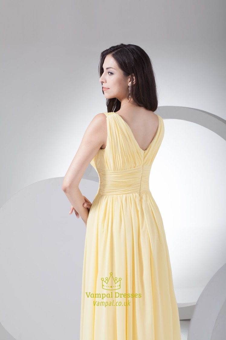 Pastel Yellow Mother Of The Bride Dresses 73