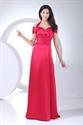 Off The Shoulder Floor Length Dress, Long Halter Prom Dresses 2021