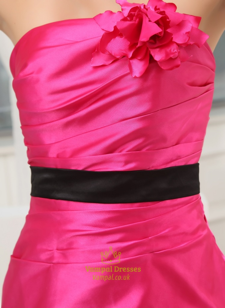 Prom Dresses Hot Pink And Black 16