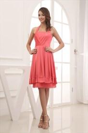 Short Chiffon Dresses