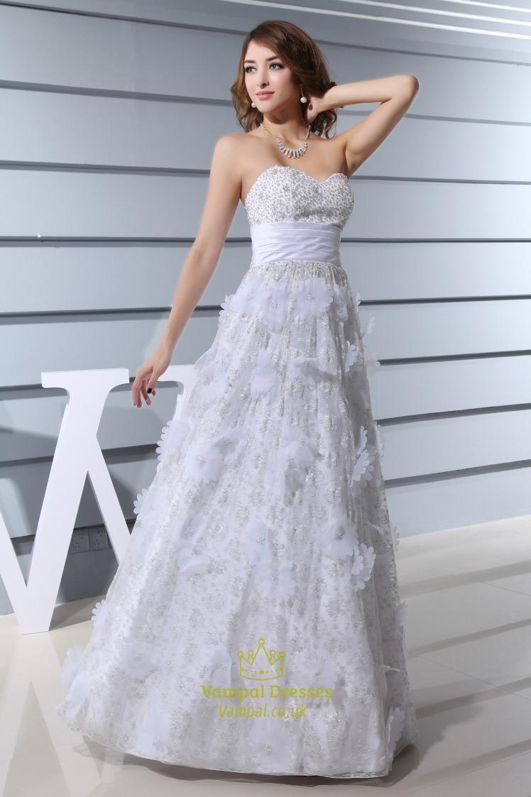 a line lace wedding dress uk a line strapless lace wedding dress sweetheart lace