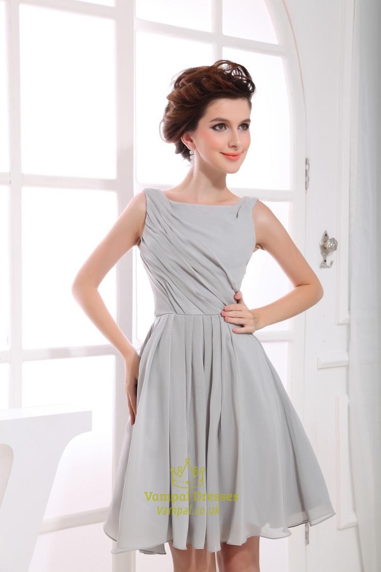 Short Chiffon Gowns