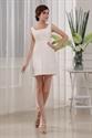 Empire Waist Short Prom Dresses, Short Beaded Homecoming Dresses