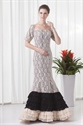 Luxurious All Lace Short Sleeves Mermaid Style Mother Of The Bride Dress