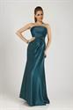 Teal Evening Maxi Dress,Long Teal Blue Prom Dresses 2021