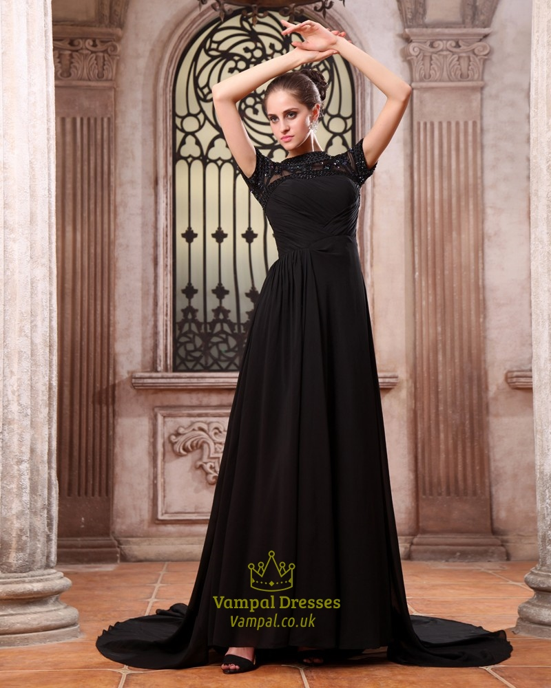Formal maxi dresses black