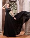 Elegant Black Formal Prom Dresses,Black Maxi Dresses With Sleeves UK