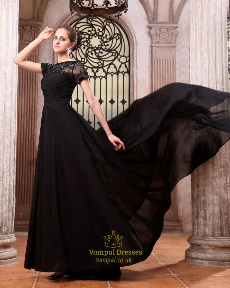 Evening dresses black uk