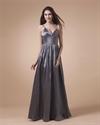 Silver Spaghetti Strap Prom Dresses 2021,Spaghetti Straps Maxi Dress
