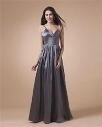 Silver Spaghetti Strap Prom Dresses 2016,Spaghetti Straps Maxi Dress