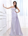 Sweetheart Ruffled Prom Dresses 2021 With Beadings