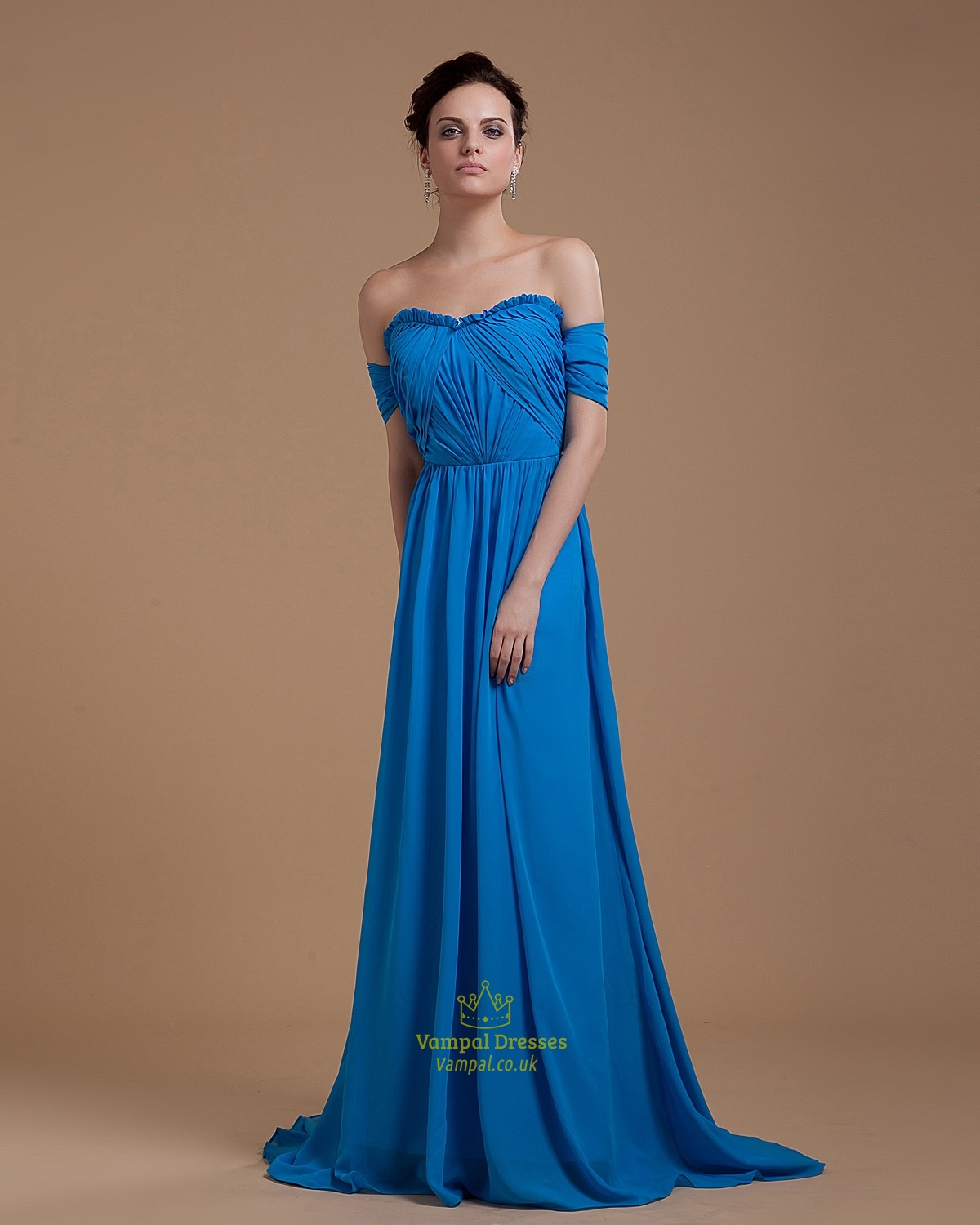 Turquoise Off Shoulder Top Long Prom Dress 2016 UK With Open Back ...