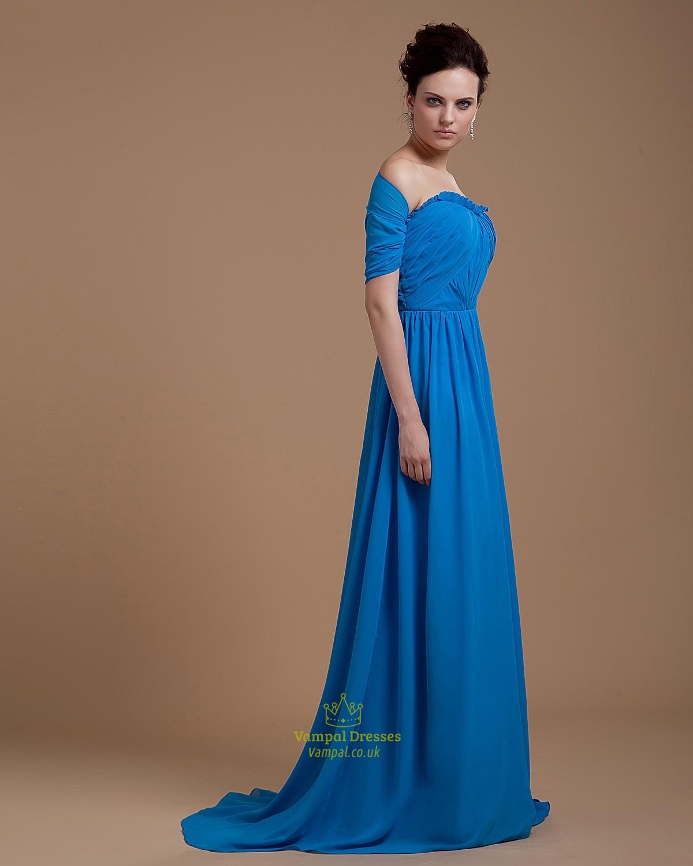 Long Formal Off-the-Shoulder Prom Dress - PromGirl