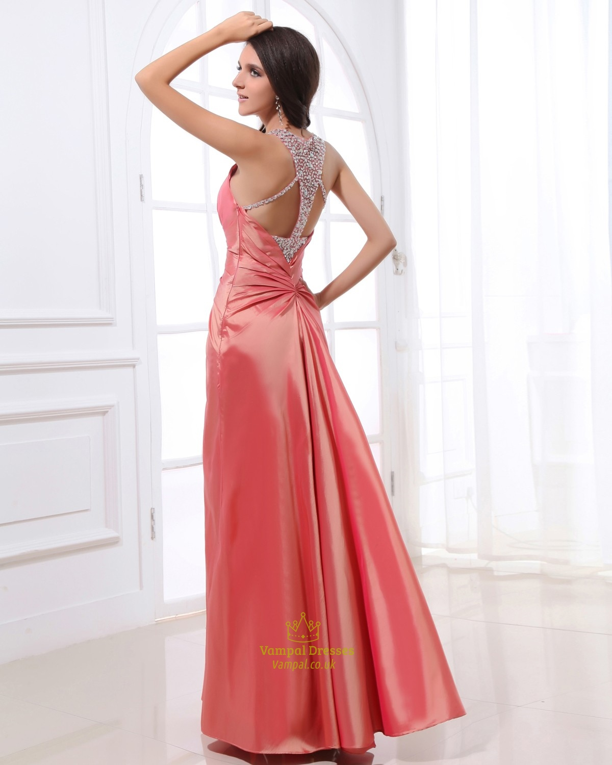 Coral Prom Dresses With Beaded Straps,Pink Salmon Prom ... Salmon Prom Dresses 2013
