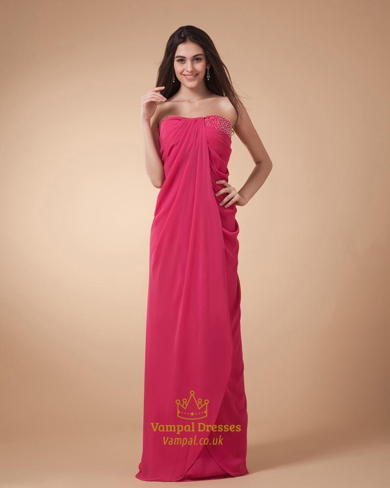 Hot Pink Dresses  Vampal Dresses