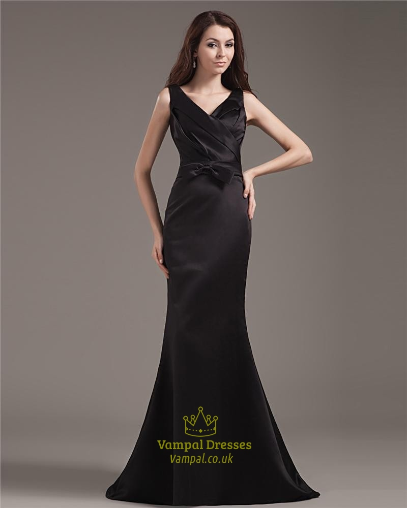 Black Mermaid Evening Dress Uk 95