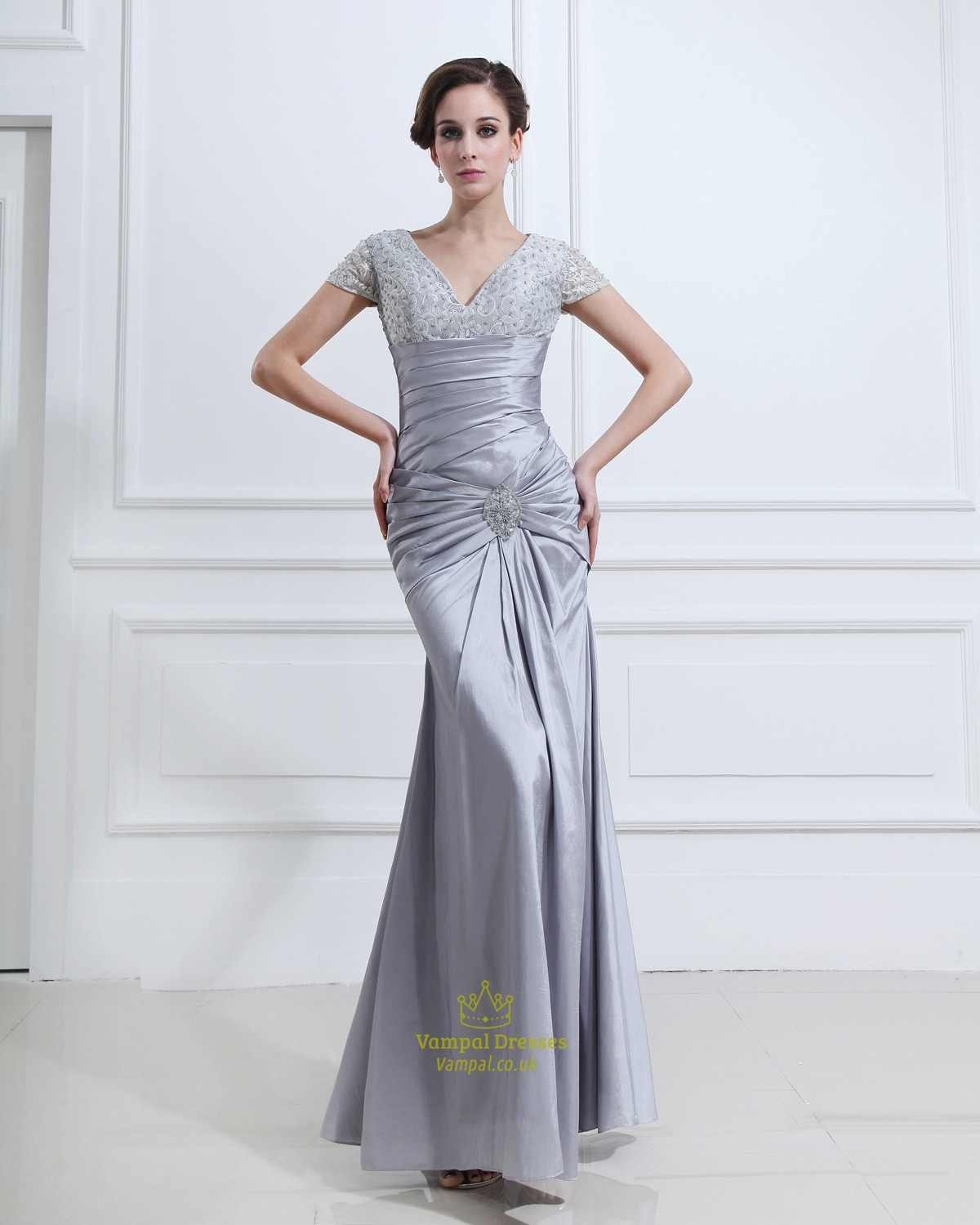 silver formal dresses for women images - dresses design ideas