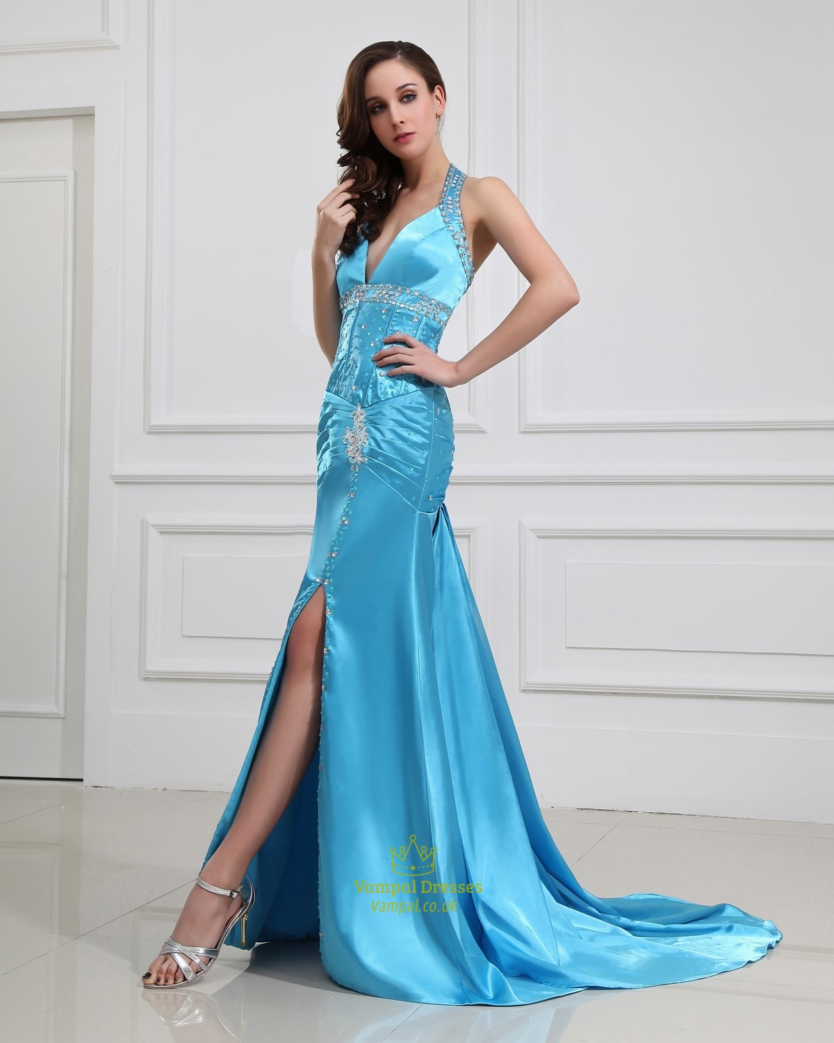Prom Dresses With Slits Up The Side Uk 96