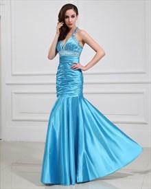 Aqua Blue Prom Dresses 2019,Light Aqua Blue Semi Formal Dresses