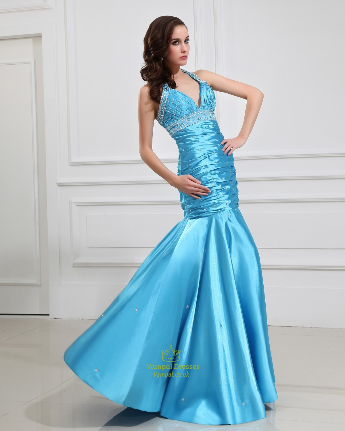 Semi Formal Dresses Light Blue - Holiday Dresses