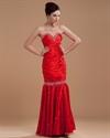 Red Mermaid Prom Dresses 2021,Red Prom Dresses 2021