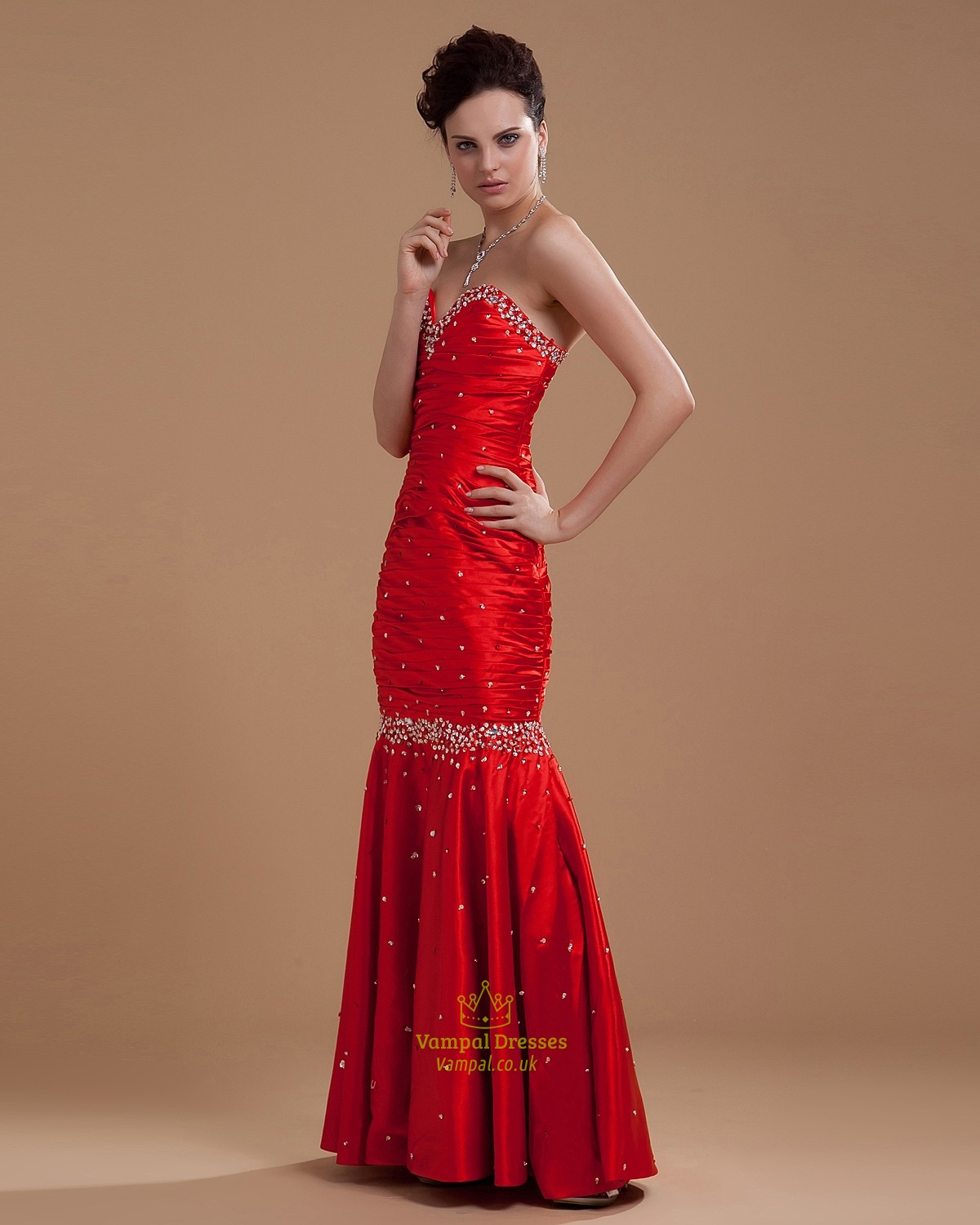 Prom Dresses Red Mermaid 66