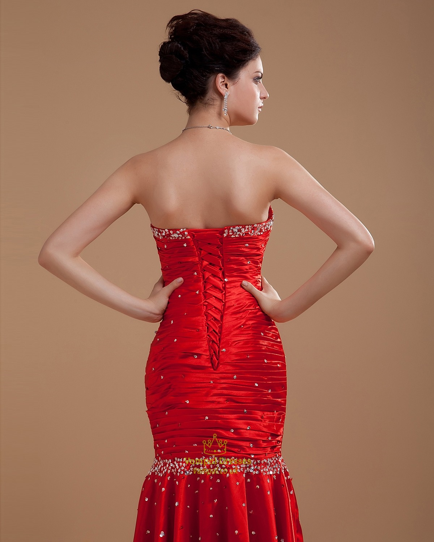 Red Mermaid Prom Dresses 2016,Red Prom Dresses 2016