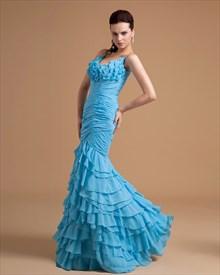 Aqua Blue Mermaid Prom Dresses,Aqua Blue Prom Dresses 2019