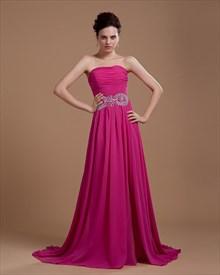 Fuschia Prom Dresses 2019,Hot Pink Dresses For Women
