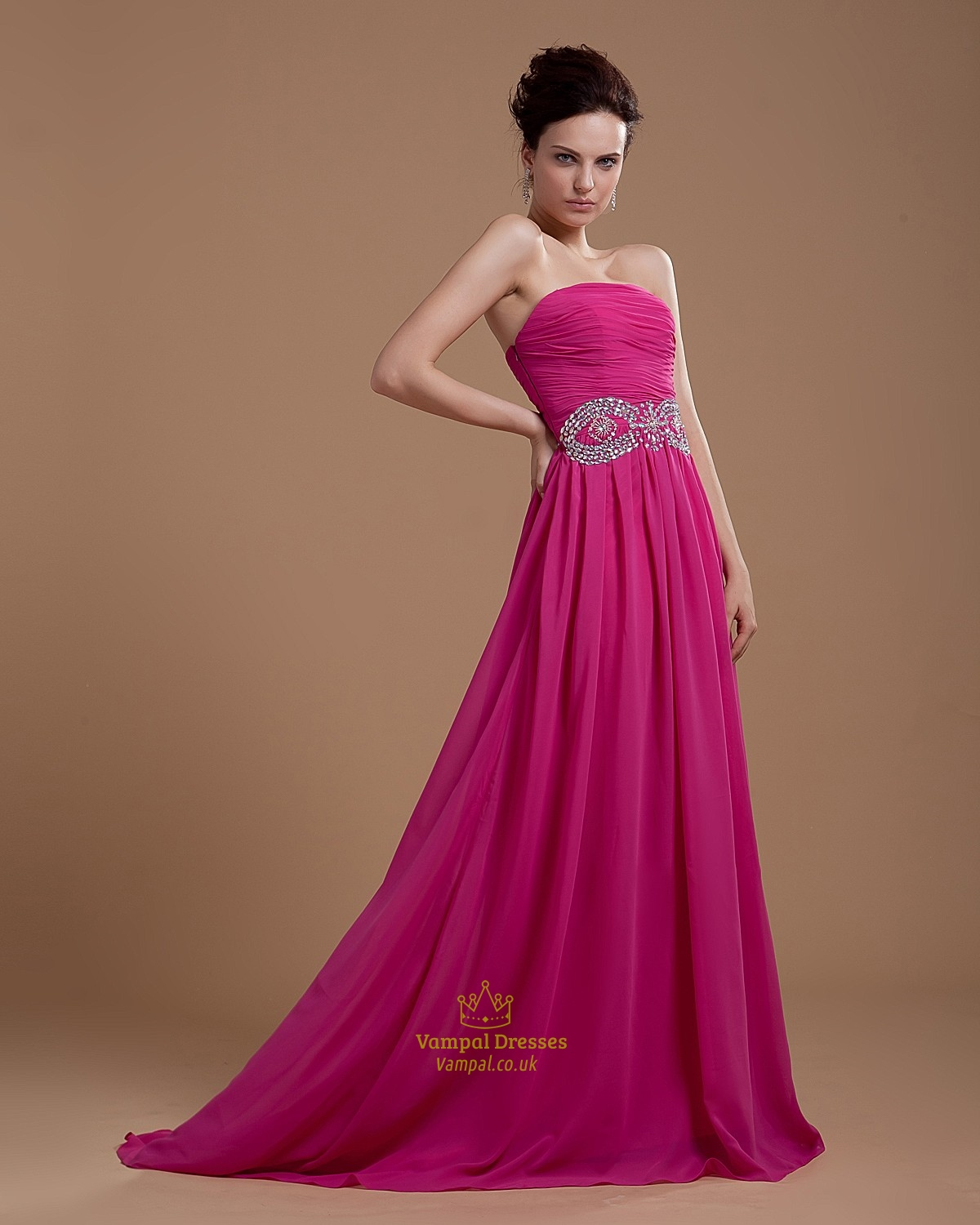 Fuschia Prom Dresses 2016,Hot Pink Dresses For Women ...