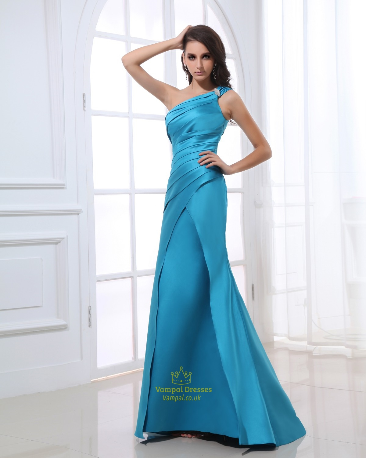 Aqua Blue Dresses Bridesmaid For Women,Aqua Blue Evening Gowns UK ...