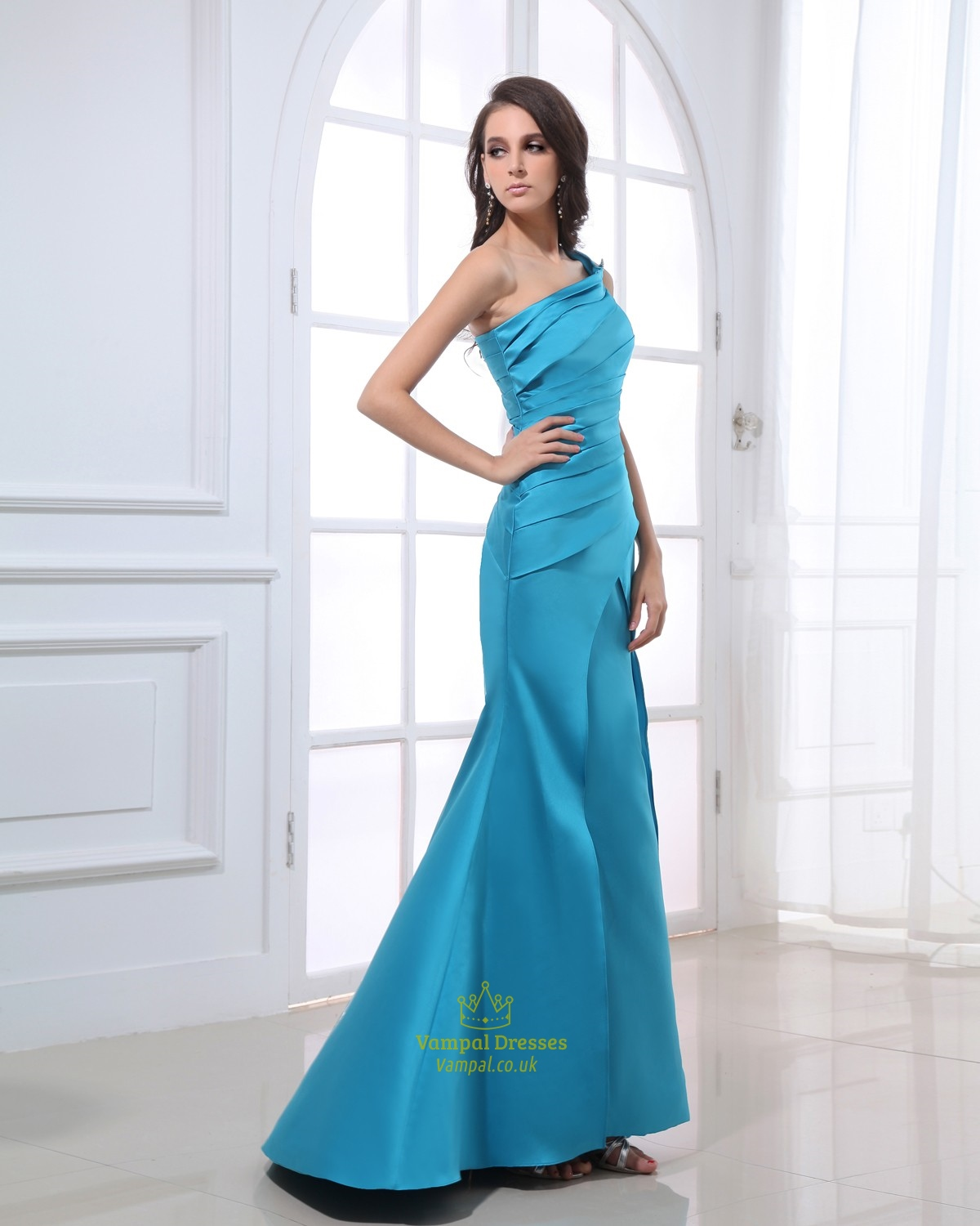 Aqua blue dresses bridesmaid for women aqua blue evening for Aqua blue dress for wedding