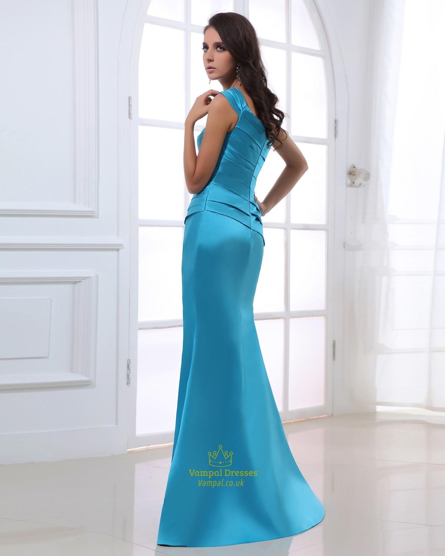 Aqua Blue Dresses Bridesmaid For Women,Aqua Blue Evening Gowns UK ...