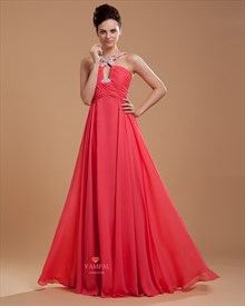 Hot Pink Formal Dresses For Juniors ,Hot Pink Prom Dresses With Straps