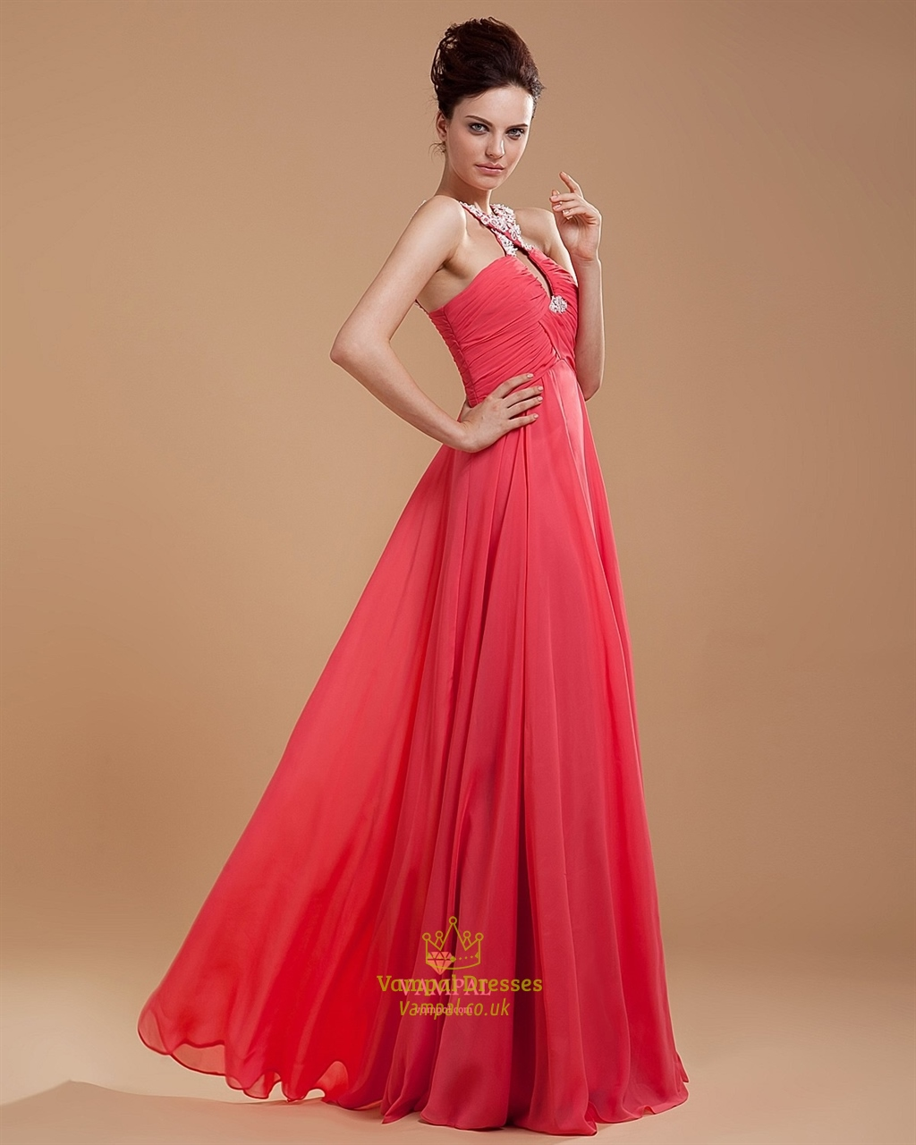 53bc3b9fb Hot Pink Formal Dresses For Juniors