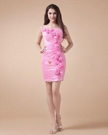 Light Pink Homecoming Dresses 2019,Light Pink Graduation Cocktail Dresses