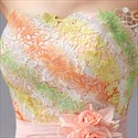 Graceful Chiffon Spaghetti Strap Short Dress Prom Gown