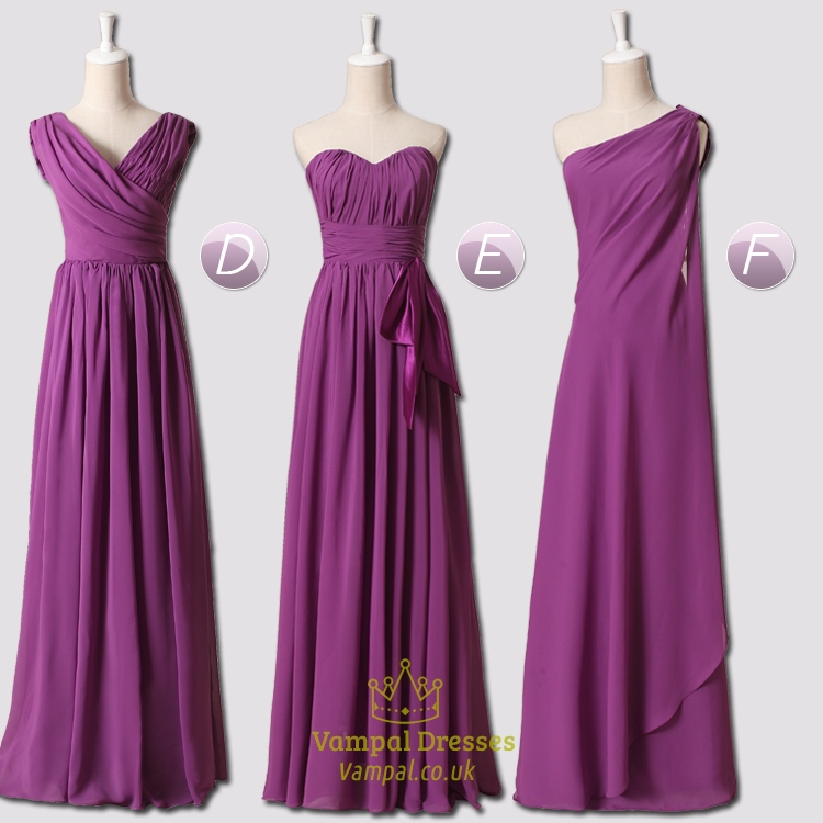 Purple Bridesmaid Dresses With Sleeves,Purple Bridesmaid Dresses ...