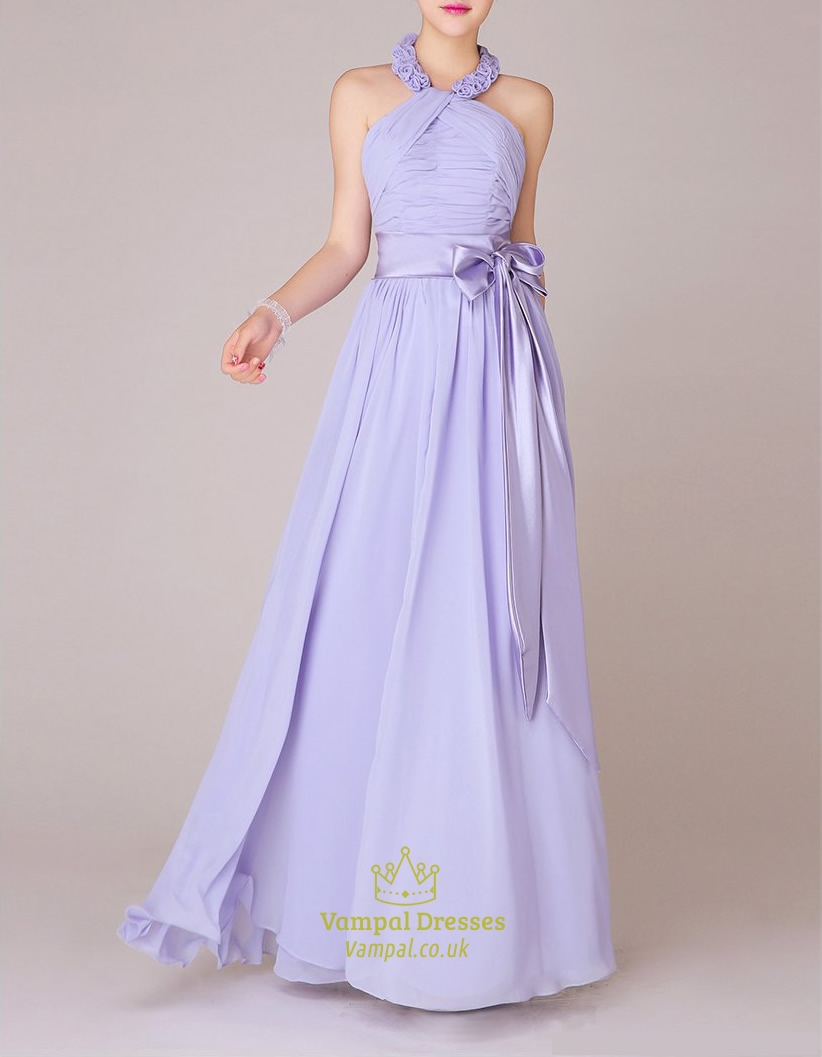 lilac bridesmaid dresses chiffon one shoulder with sleeves