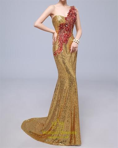 Golden Sequin Dress India Emerald Green Sequin Prom Dress