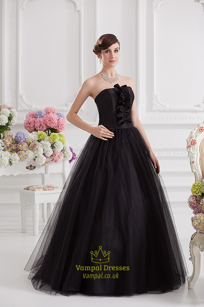Black Ball Gown Prom Dresses Black Ball Gown Dresses Uk