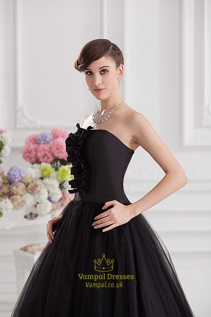 black ball gown prom dresses black ball gown dresses uk. Black Bedroom Furniture Sets. Home Design Ideas