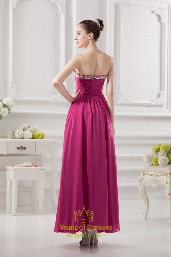 fuschia pink bridesmaids dresses fuschia pink dress for