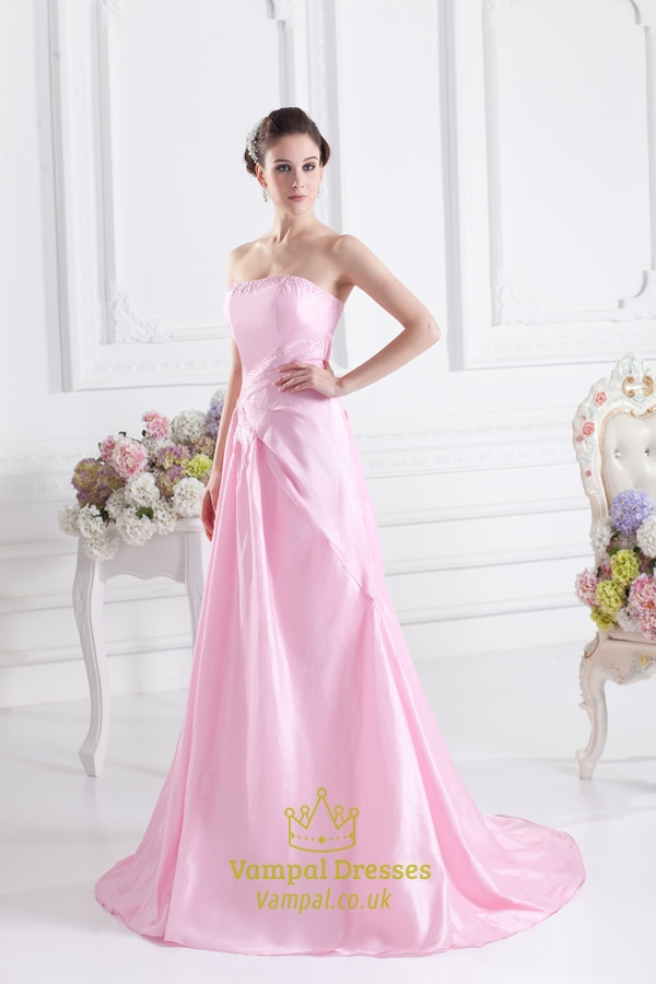 Light Pink Ball Gown Pink Ball Gown Quincea...