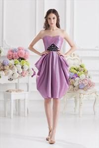 Short Light Purple Prom Dresses,Light Purple Homecoming Dresses